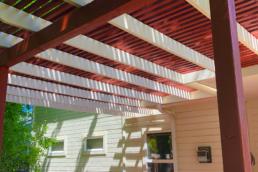 beautiful deck and awning refinishing ideas