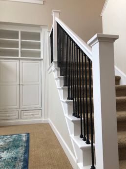Trim painting stairs boise idaho